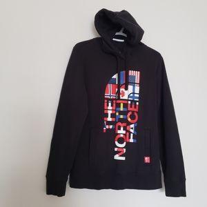 Northface women's black hoodie size large